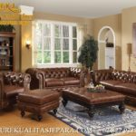 Furniture Set Sofa Tamu Mewah Minimalis Jati Modern