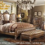 Furniture Bedroom Kamar Set Minimalis Jati Mewah Ukiran Jepara Classic