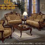Living Room Italian Set Sofa Tamu Ukiran Jati