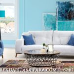 Set Sofa Tamu Mewah Minimalis Jati Furniture Murah