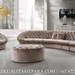 Set Sofa Tamu Mewah Modern Grey Furniture Klasik Minimalis